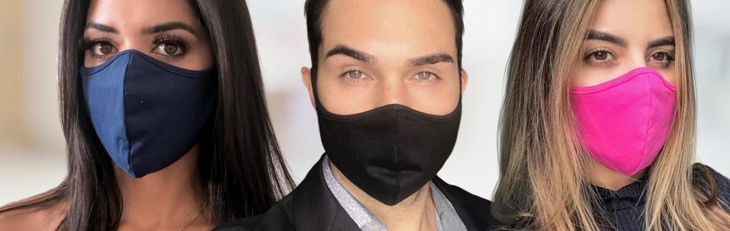 Máscaras de proteção